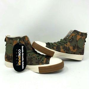 Converse CTAS Hi Cordura Camo Field Sneakers - NEW